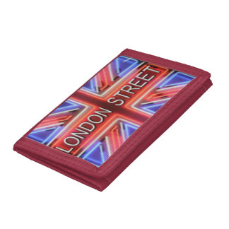 LONDON STREET PORTFOLIO UNISEX TRI-FOLD WALLETS