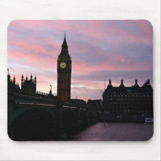 London Sunset Mouse Pad