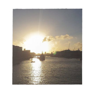 London Sunset Notepad