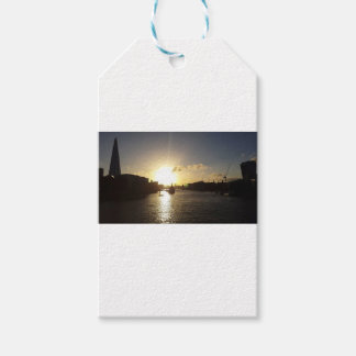 London Sunset Pack Of Gift Tags