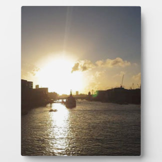 London Sunset Plaque