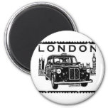 London Taxi Refrigerator Magnets