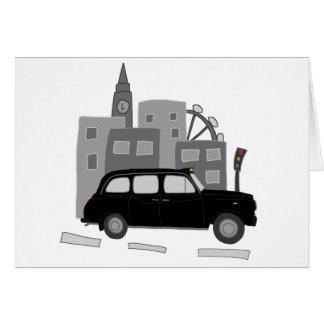 London Taxi Scene Card