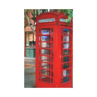 London Telephone Booth Canvas Print