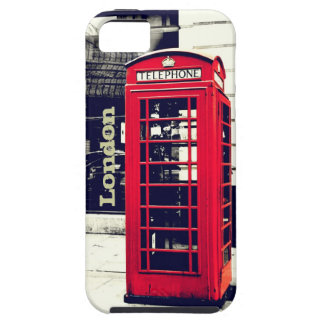 London Telephone Booth Case iPhone 5 Case