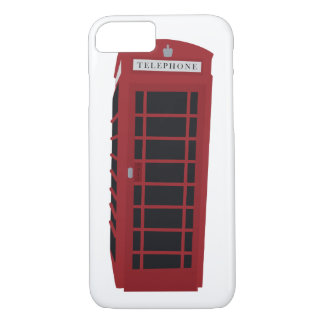 London Telephone Booth iPhone 7 Case