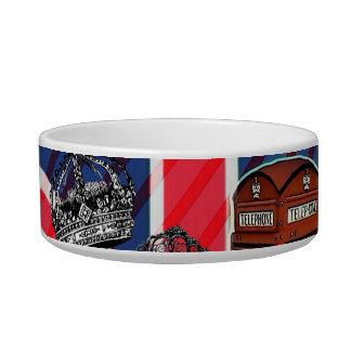 London telephone booth victorian crown union jack bowl
