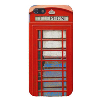 London Telephone Box Cover For iPhone 5/5S
