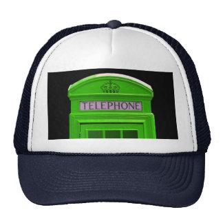 London telephone box England Trucker Hat