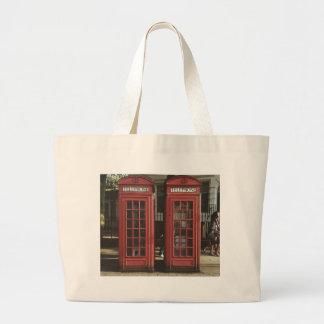 London Telephone Box Jumbo Tote Bag