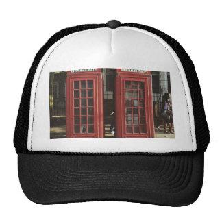 London Telephone Box Trucker Hat