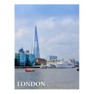 London The Shard UK Postcard