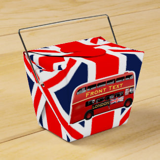 London Themed Favor Box
