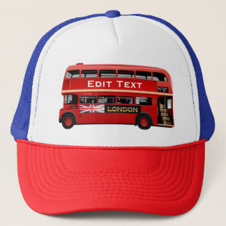 London Themed Trucker Hat