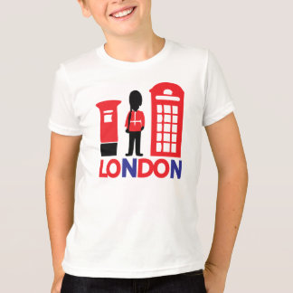 LONDON tour Kids' Anvil Ringer T-Shirt
