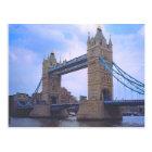 London, Tower Bridge and River Thames Postcard