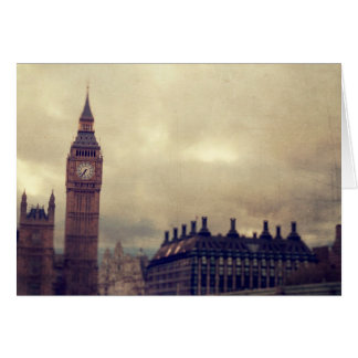 London Town Big Ben Greeting Card