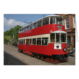 London tram No 331 at Crich Card