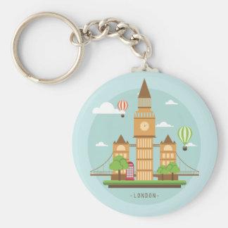 London Uk design unique gift Keychain