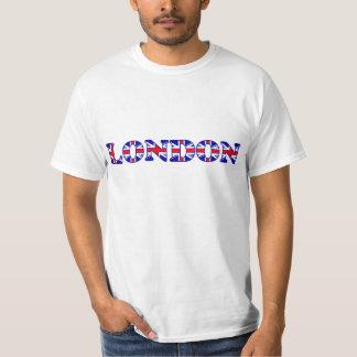 London UK Flag Letters T-Shirt
