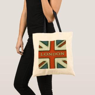 London UK Flag Tote Bag