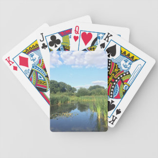 London - UK Pond Bicycle Playing Cards