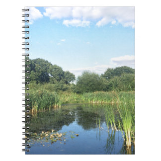 London - UK Pond Spiral Notebook