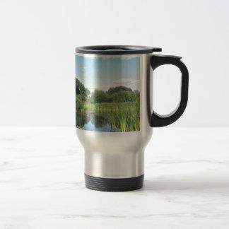 London - UK Pond Travel Mug