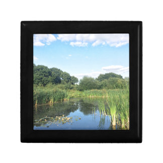 London - UK Pond Trinket Box