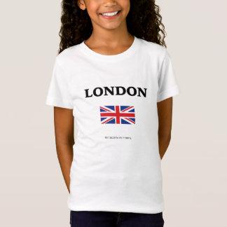 London. Union Jack and GPS Coordinates. T-Shirt