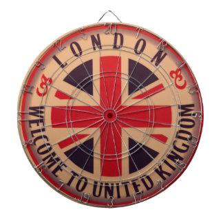 London - Union Jack - Welcome to United Kingdom Dartboard