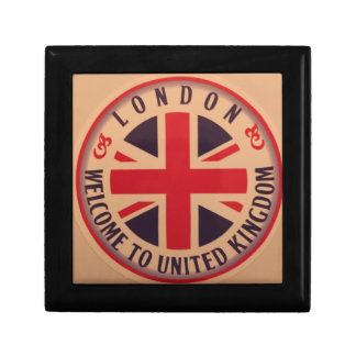 London - Union Jack - Welcome to United Kingdom Gift Box