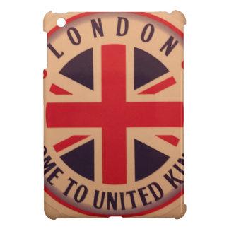London - Union Jack - Welcome to United Kingdom iPad Mini Cover
