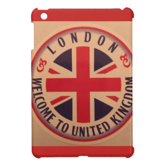 London - Union Jack - Welcome to United Kingdom iPad Mini Cover