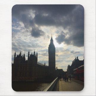 London United Kingdom Big Ben Sunset Clouds Sky UK Mouse Pad