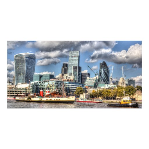 London View Picture Card