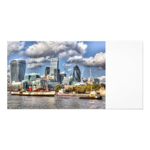London View Customized Photo Card