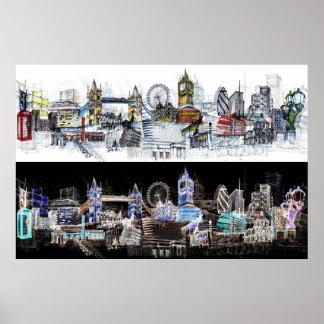 London view poster