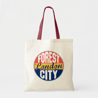 London Vintage Label Tote Bag