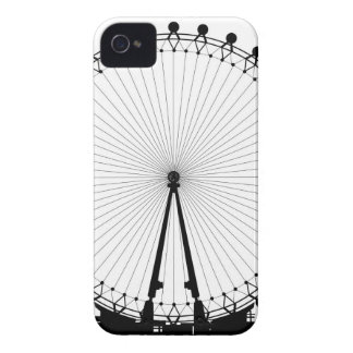 London Wheel Silhouette iPhone 4 Case-Mate Case