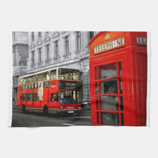 london with a touch of colour kitchen towel