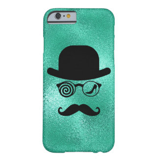 Londoner Wolf Womanizer Mustaches Glasses Barely There iPhone 6 Case