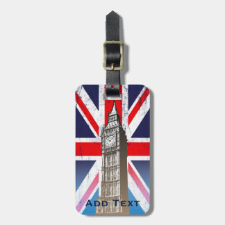 London's Big Ben Luggage Tag
