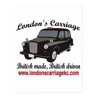 London's Carriage Postcard