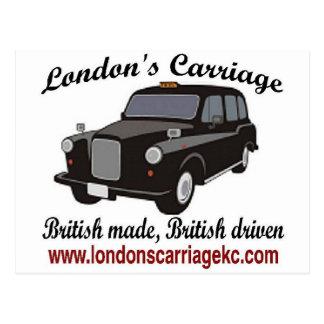 London's Carriage Postcard