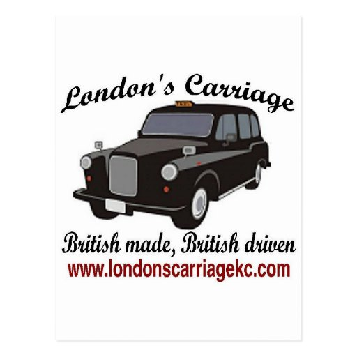 London's Carriage Post Card