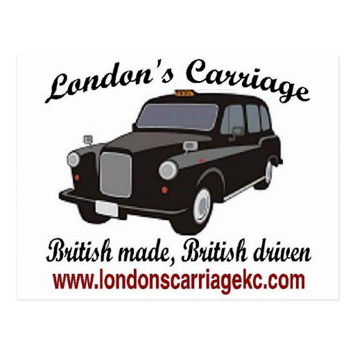 London's Carriage Postcards