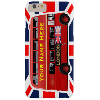 London's Famous Red Bus Barely There iPhone 6 Plus Case