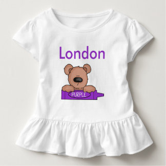 London's Personalized Teddy Toddler T-shirt
