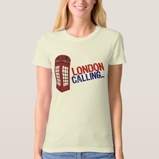 Londres appelle t-shirt